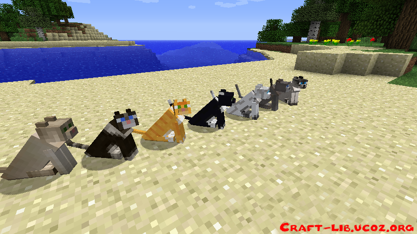 Как сделать котят в майнкрафте - FormaGotova :: Готовые советы от умельцев